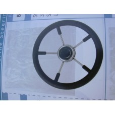 Steering Wheel Stainless Steel 15 inch