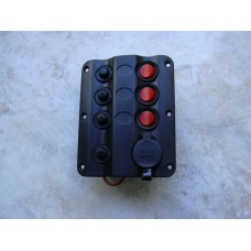 3 Way switch Panel with Lighter Fitting