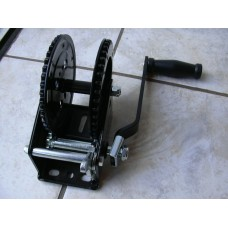 1600 lb Hand Winch with Double Gear